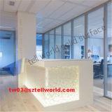 Barre de finition de premier de la vente 2017 de barre de Cofunter éclairage LED de marbre artificiel de modèle