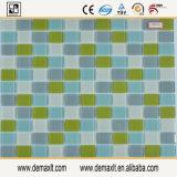 Mosaici di vetro uso blu di colore di vario per le piscine,
