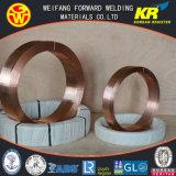金に橋4.0mm EL12固体にはんだ付けすることは専門の溶接ワイヤの製造業者からのワイヤーを見た