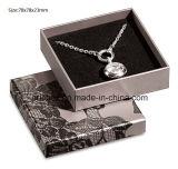 Серая просто бумажная коробка упаковки подарка ювелирных изделий Jy-Jb150 для кольца