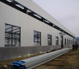 Prefabricated 가벼운 강철 구조물 금속 작업장 (KXD-SSW1153)