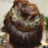 Die Haarnadel-Zubehör, die vom Werfen mit hergestellt werden, höhlen heraus Basisrecheneinheit im Gold aus