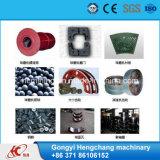 ISO-Bescheinigung-Mineralkugel-Tausendstel-reibende Maschinerie für Fassbinder-Erz