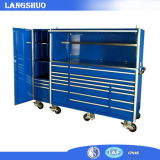 Ferro Mobile Drawer Tool Cart/Cabinet con Wheel/Professional Metal Tool Trolley