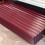 Hoja de acero acanalada galvanizada calidad dura del material para techos de Sgch