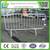 Strecke Safety Galvanized Steel Mobile Barrier mit Wheels