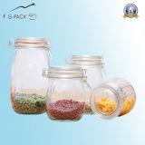 Jar Food Grade de vidro por Jam, Salsa, Honey Packing