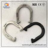 Produtos de aço das ferraduras dos esportes equestres do chicote de fios que competem placas