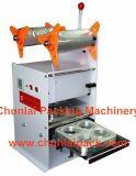 Máquina manual del lacre de la taza 4 tazas que sellan la máquina