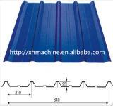 Roulis vitré de vente chaud de panneau de toit formant la machine (XH828-840)