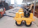 double rouleau vibratoire diesel de bébé du tambour 6HP (FYL-S600C)