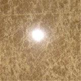 O mármore claro de Emperador afiou Polished