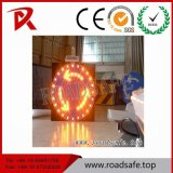 Símbolos amonestadores reflexivos de aluminio de la señal de tráfico de Roadsafe que advierten la señal de tráfico de vehículos