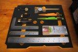 Woodworkign utiliza ferramentas a marcação de Veritas e o jogo de medição