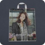 연약한 Loop Handle Bag를 가진 플라스틱 Retail Shopping Bag