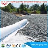 중국 도매 바늘에 의하여 구멍을 뚫는 폴리에스테 비 길쌈된 직물 Geotextile