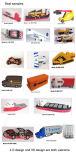 Azionamento istantaneo della penna del USB del PVC di abitudine all'ingrosso 3D per il campione libero (PER ESEMPIO 013)