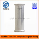 Installazioni della pressa della conduttura dell'acciaio inossidabile che registrano accoppiamento