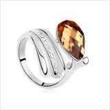 Anello cubico di Zirconia del commercio all'ingrosso dell'anello delle donne di modo