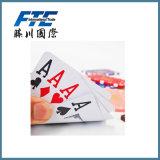 Tarjeta de juego de papel impresa aduana de tarjetas que juegan