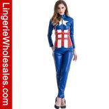 Вычуры партии Halloween женщин Costume Cosplay Catsuit супергероя сексуальной американский