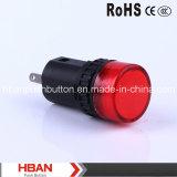 CE di Hban RoHS (16mm) Hbad16-16A Indicator