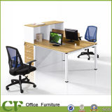CF Movable Cabinet / Bureau Workstation Desk pour Six Seaters
