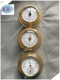Barómetro, Clock, Temperature Hygrometer Four Pieces para um Set