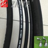 Mangueira hidráulica de borracha de alta pressão de Zmte SAE100 R2at com encaixe hidráulico