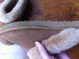Deslizador morno da pele de carneiro Home por atacado da forma feito em China