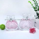 Бутылки с кристаллический крышкой, бутылки лидирующего дух заполированности кристалла стеклянные брызга благоуханием стеклянные