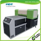 Impresora UV de alta velocidad New vendedor caliente de la A1 de doble cabezal de cerámica, vidrio, plástico