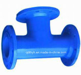 Дуктильные переходника и соединение фланца утюга для трубы PE/PVC
