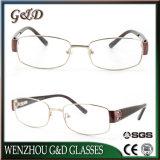 Monocolo di Eyewear del blocco per grafici del metallo del progettista ottico