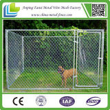 Большая псарня собаки загородки ячеистой сети утюга