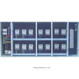 Rectángulo de /Meter de la caja de control de la distribución la monofásico