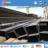 Tubo rectangular del acero de carbón/tubo de acero del cuadrado
