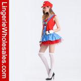 Kostuum van Cosplay van de Loodgieter van het Kostuum van de volwassene het Speelse voor de Partij van Halloween