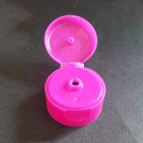 tampão plástico da parte superior da aleta de 28mm para o frasco cosmético (NCP26-1)