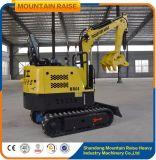 Escavatore del circuito idraulico 800kg di aumento della montagna mini con i prezzi