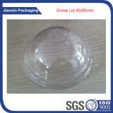 Copo e tampa plásticos descartáveis