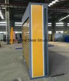 дом контейнера двери стальной завальцовки 10FT складывая