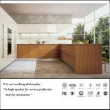 Alta cabina de cocina de madera ULTRAVIOLETA brillante (ZH10)