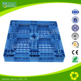 Pallet di plastica pesante Cross-Section del Singolo-Lato blu di colore