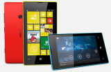 Telefone original Lumia 520 Windows, telefone móvel 520, telefone inteligente barato