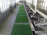 工場供給FRP GRPのガラス繊維によって形成される耳障りな網の格子