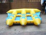 Fliegen-Fisch-Gefäß-aufblasbare Boots-Wasser-Spielwaren für 6 Leute