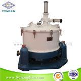 Separatore inferiore automatico della centrifuga della ruspa spianatrice del treppiedi di scarico