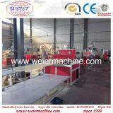 Comité van de Muur van pvc WPC het Houten Plastic met de Machine van de Uitdrijving van de Laminering voor de Decoratie van het Huishouden