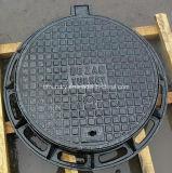 Ggg50 tampas de câmara de visita Ductile do ferro de molde do diâmetro 600mm